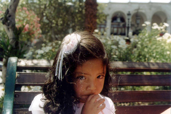 Arequipa, little girl