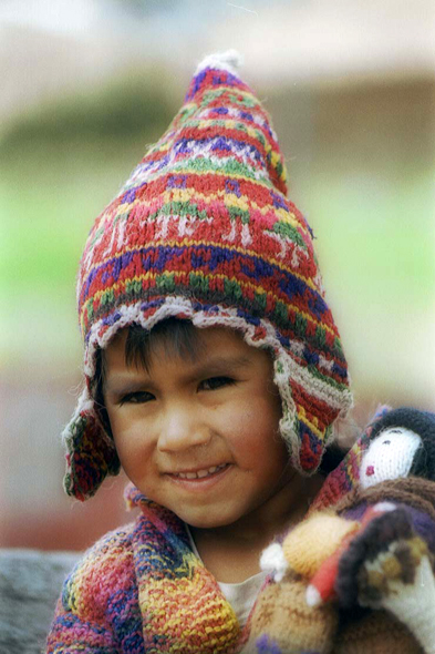 Cuzco, child