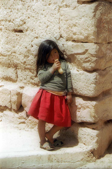 Moray, little girl