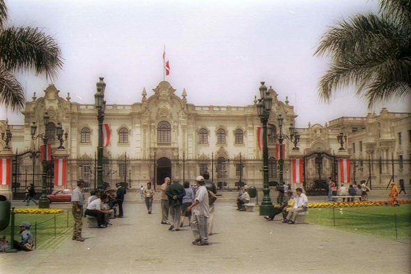 Lima, Seat of the Government