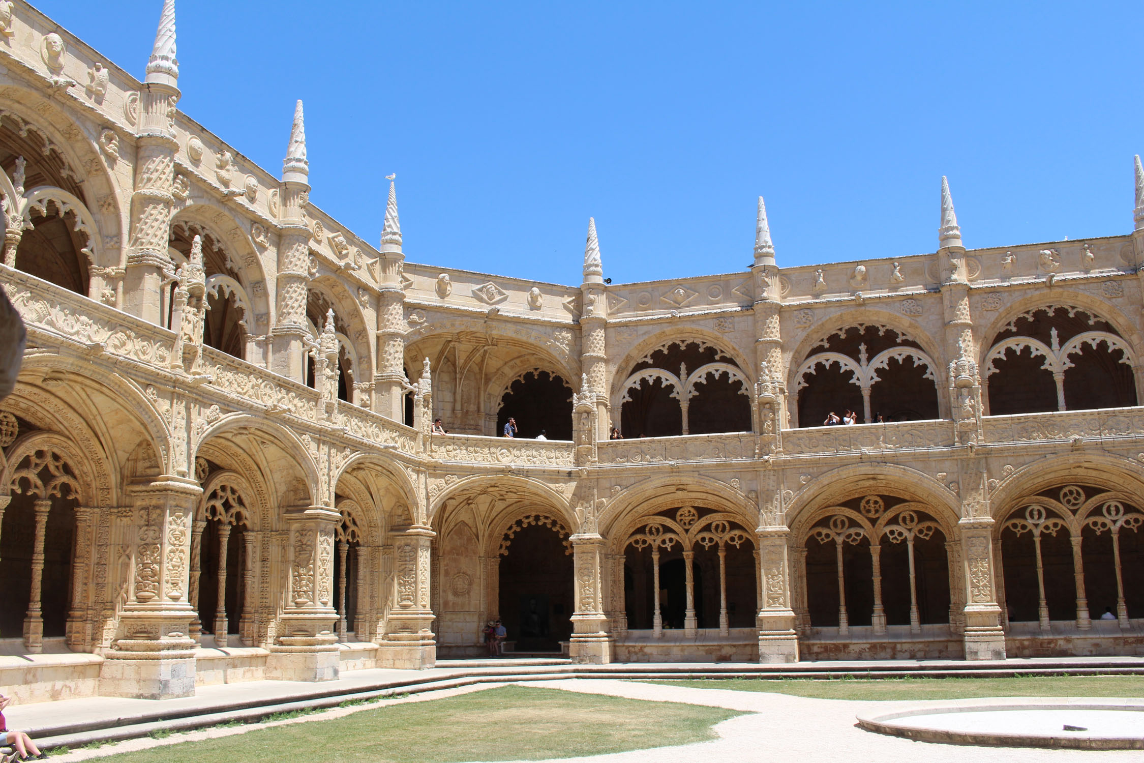 Lisbon,  the exceptional monastery of Jeronimos