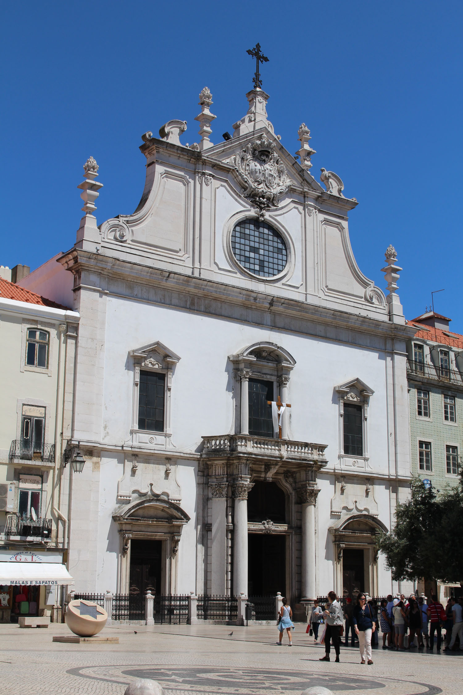 Lisbon, church São Domingos