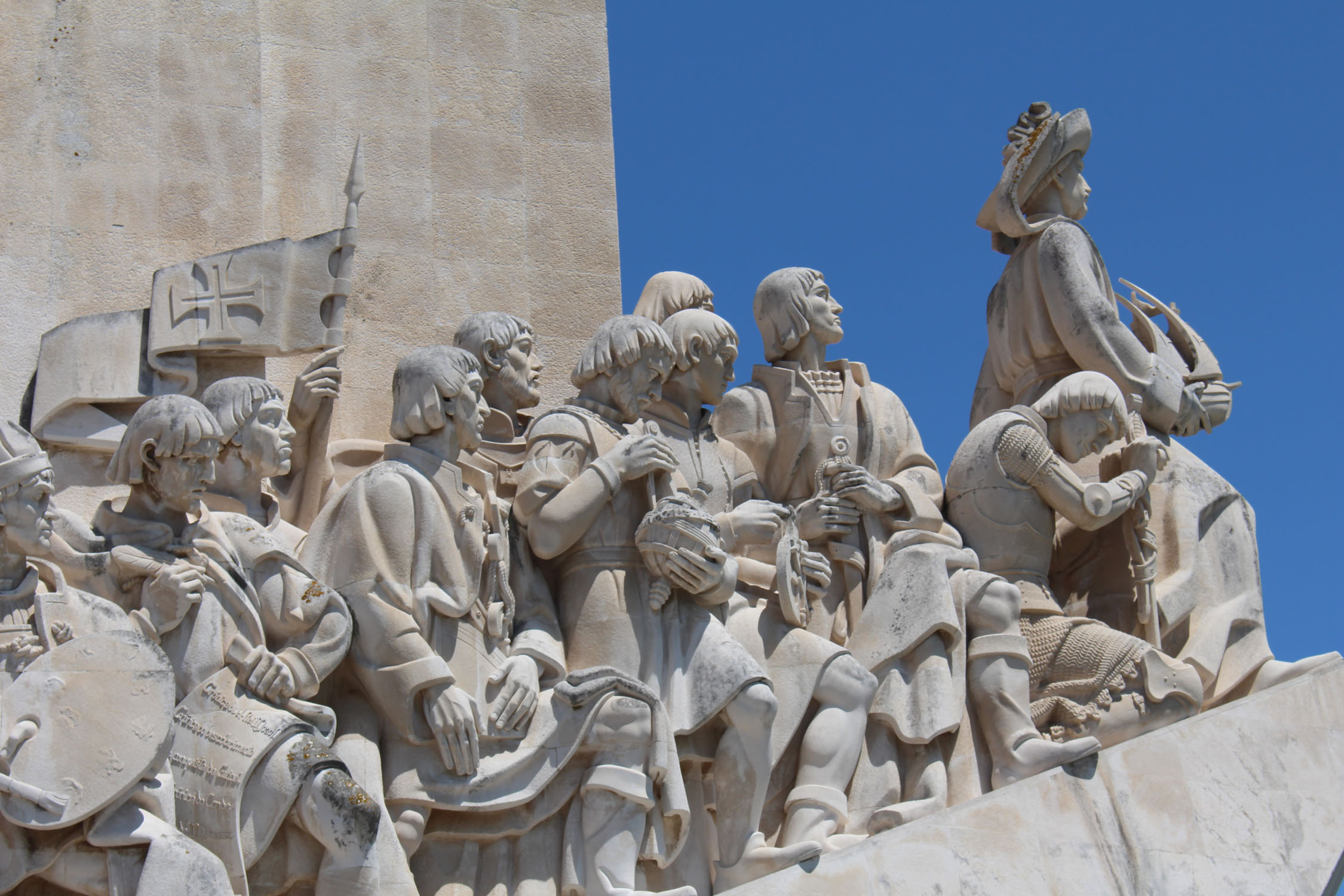 Lisbon, Monument to the Discoveries, details