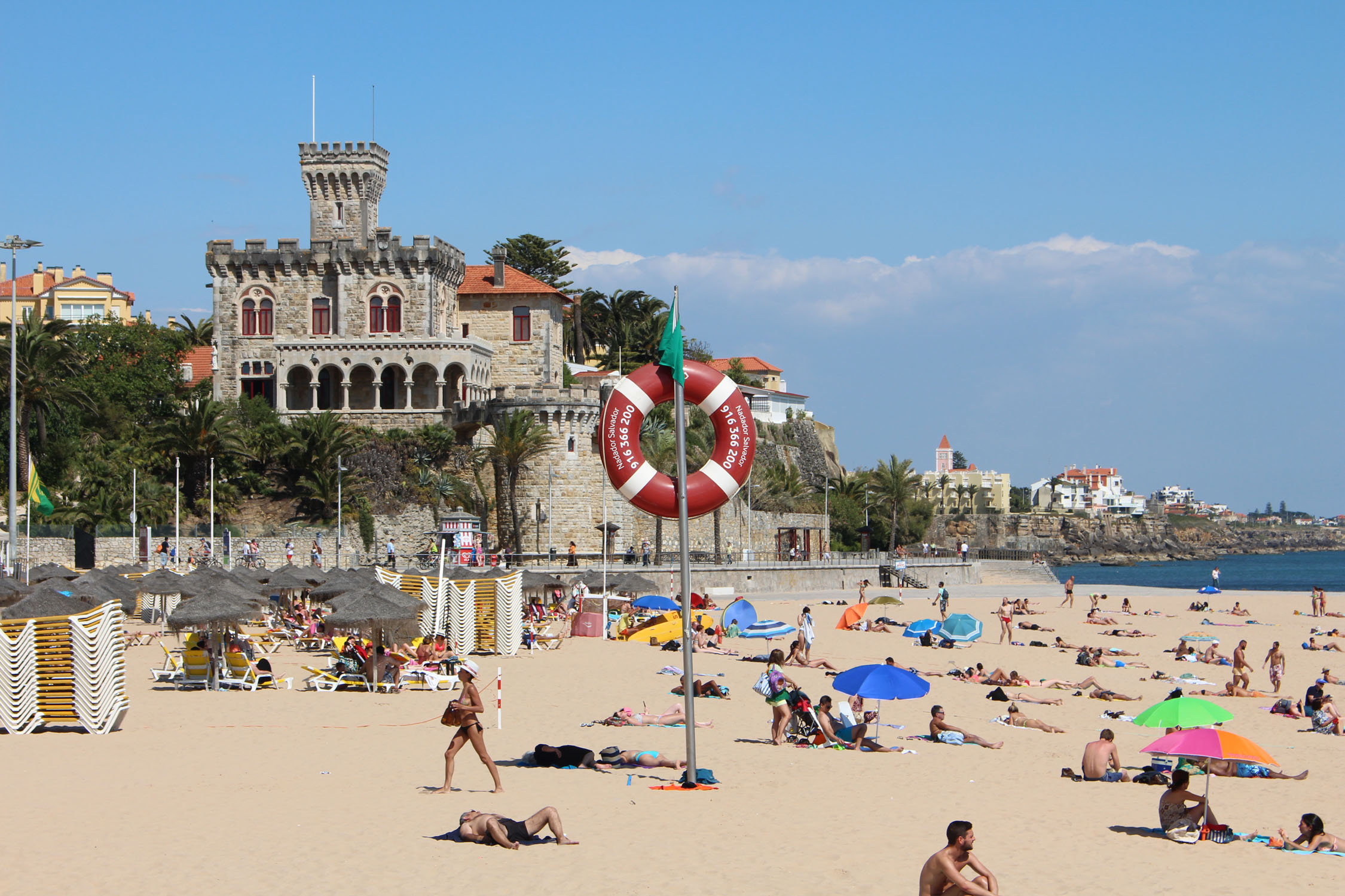 Estoril, palace, Tamariz beach