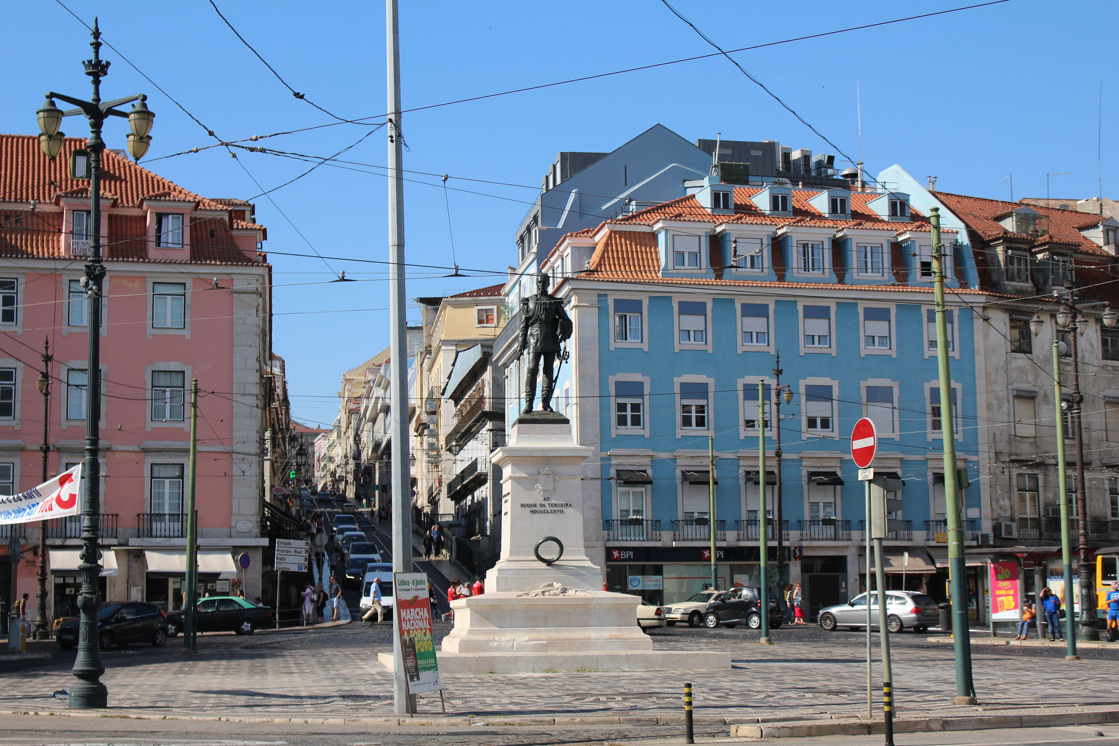 Lisbon, duque de Terceira square