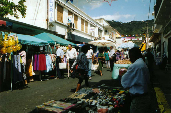 Saint-Denis, Reunion, market