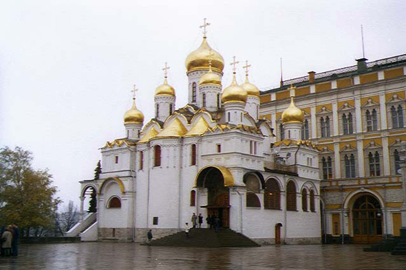 Kremlin, cathedral of the Annunciation
