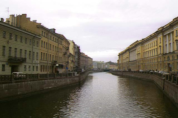 St. Petersburg, the beautiful Moika quays