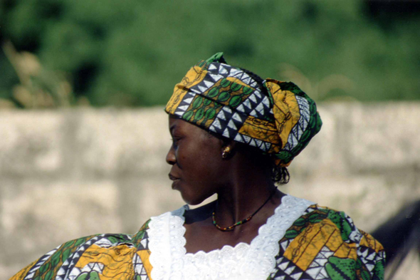Serere woman, Senegal