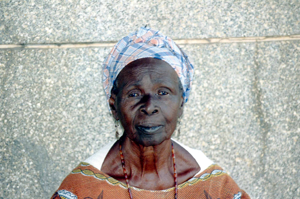 Fatick, Senegalese woman