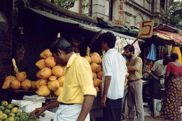 Colombo, Sri Lanka, mercado