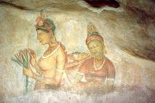 Sigiriya frescos