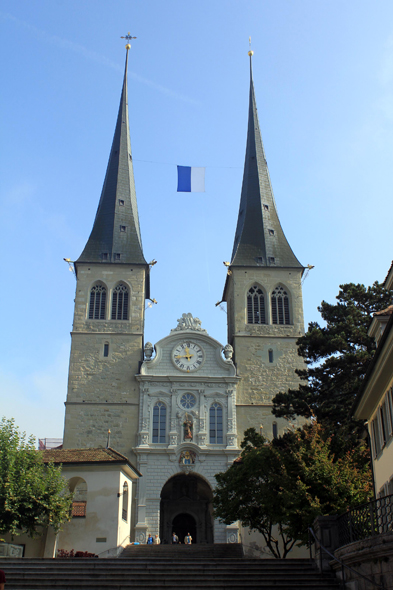Lucerne, church