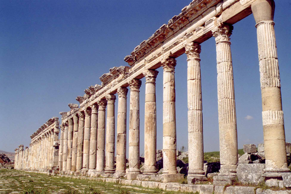 Apamea, Great colonnade