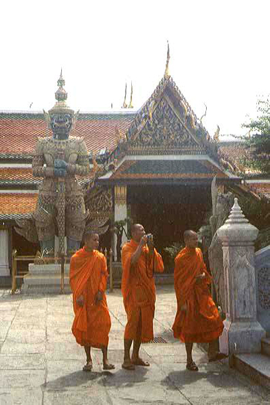 Bangkok, monks