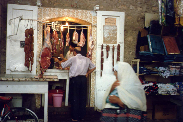 Sfax, butcher's shop