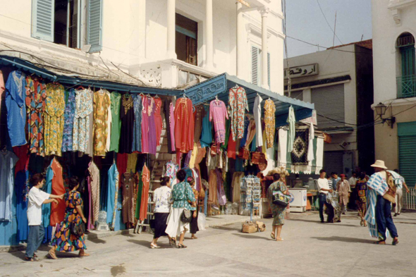 The souk - bazaar of Tunis