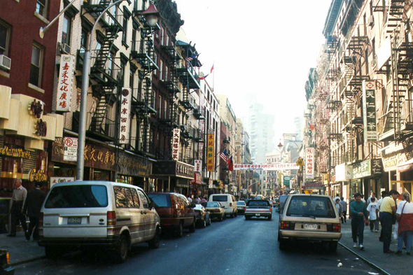 New York, quartier Chinatown