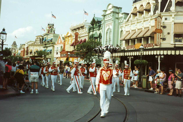 Floride, Magic Kingdom, parade