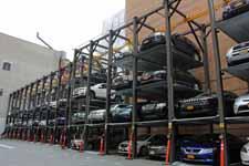 Rangement de voitures