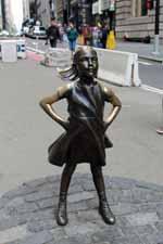 Statue de la Fille sans peur