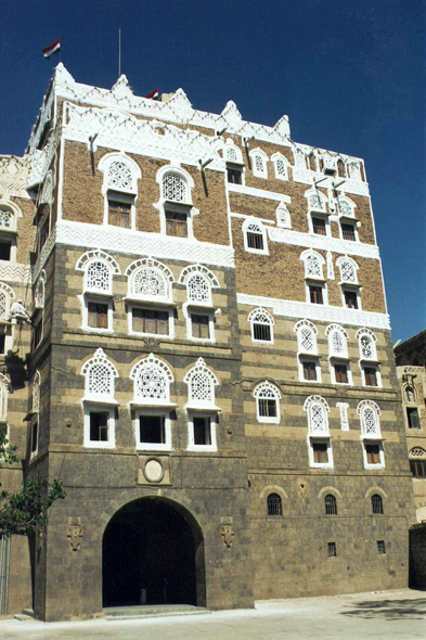 Sanaa, beautiful facade