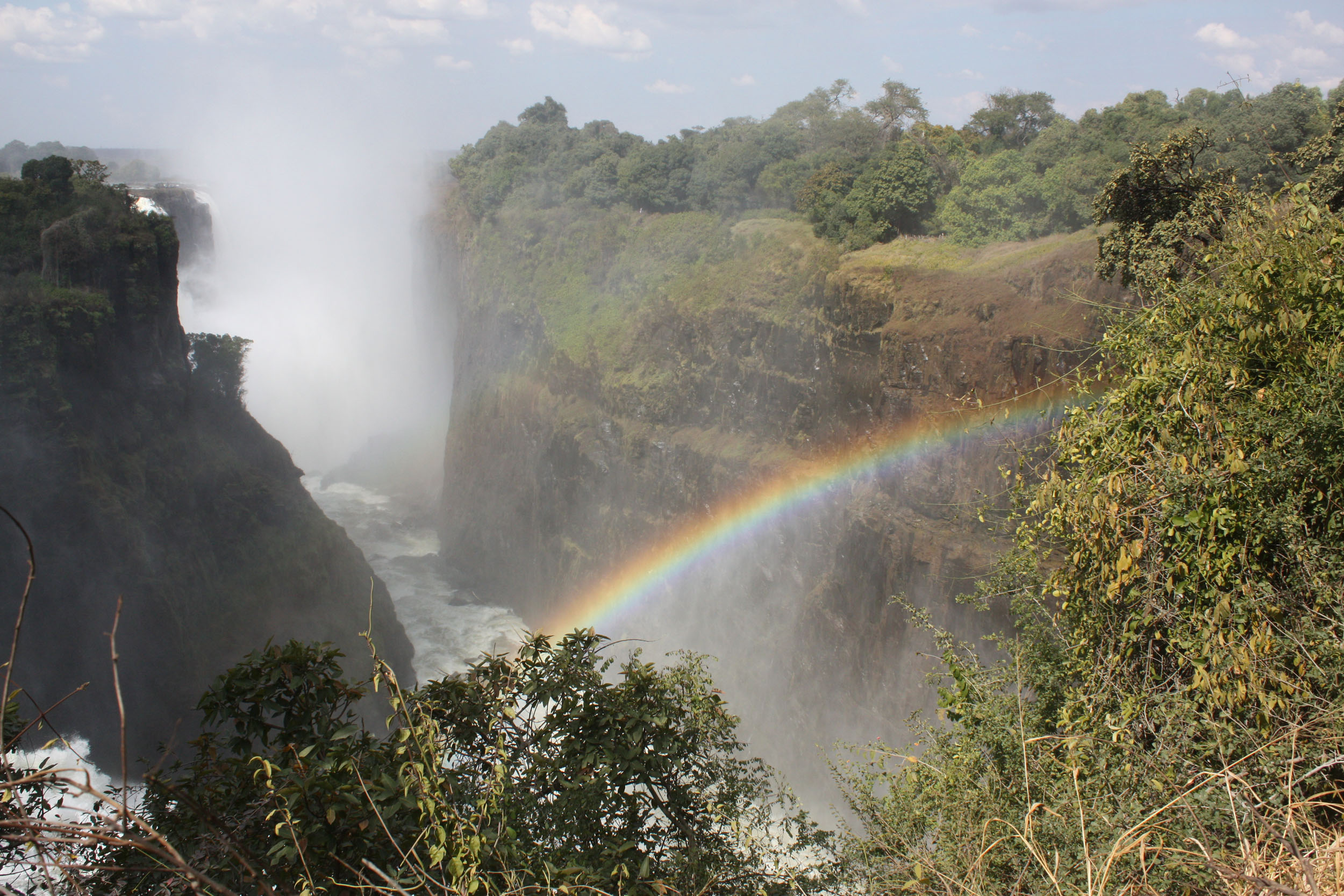 Victoria Falls, World heritage of the Humanity